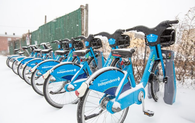 Carroll - Snow Indego Bikes