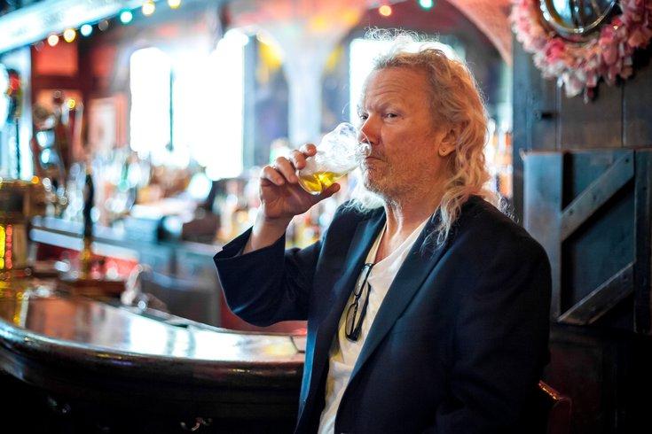Carroll - Portrait of Fergie Carey of Fergies Pub
