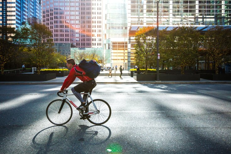 Carroll - Cycling in Center City