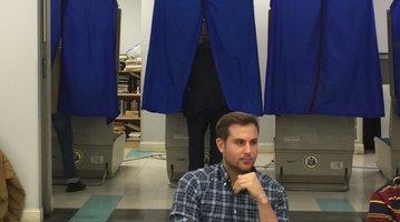Jim Kenney casts vote for mayor