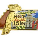 Hot Chocolate 15k finisher medal