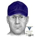 A sketch drawing of a suspect who police say posed as a utility worker to enter an elderly woman's home in South Jersey and steal from her.