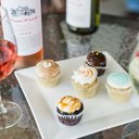 wine and cupcakes