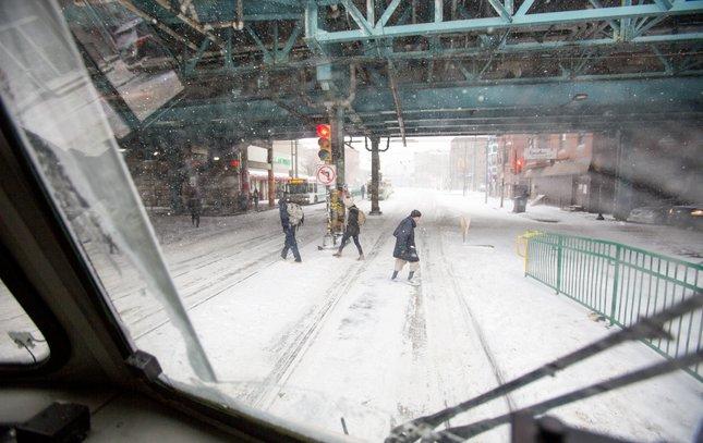 Carroll - Snow SEPTA Trolley