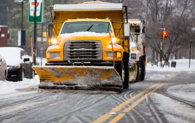 Carroll - Snow Plow Truck