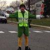 Buddy the Elf Crossing Guard