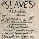 Slavery school project