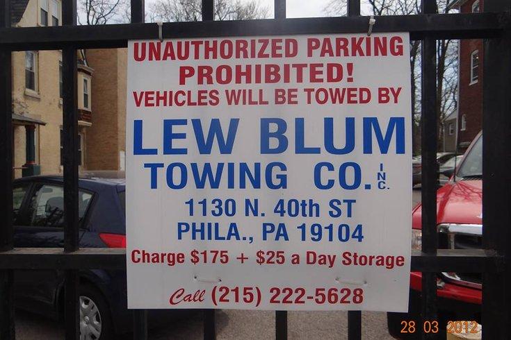 Lew Blum Towing