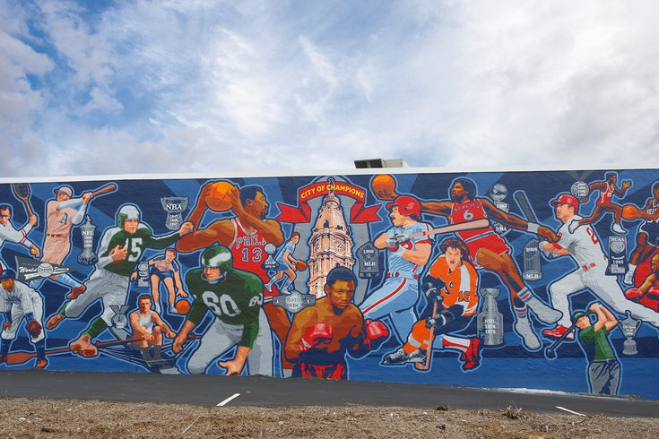 Spike S Trophies Unveils City Of Champions Mural