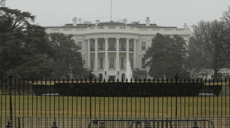 White House Lawn.