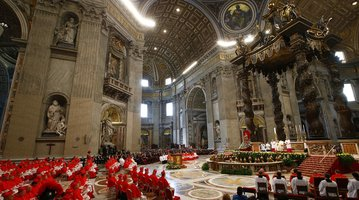 Pope and new Cardinals