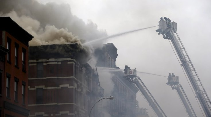 Building collapses in New York's East Village neighborhood, police say