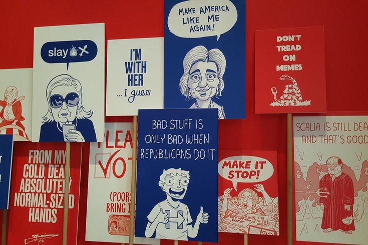 Political Cartoon Exhibit