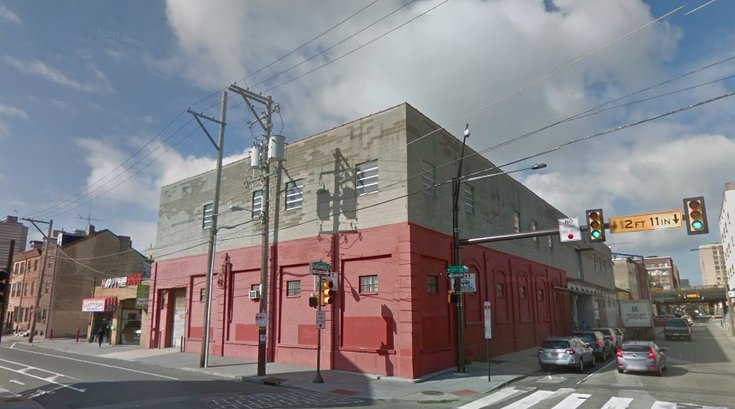 340 N. 10th Street warehouse climbing