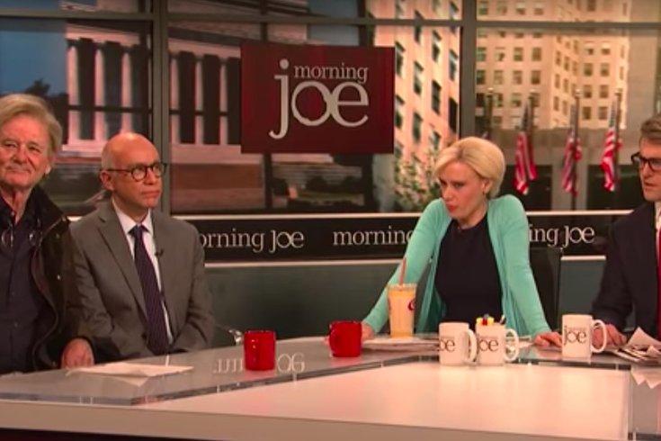 SNL morning joe bill murray