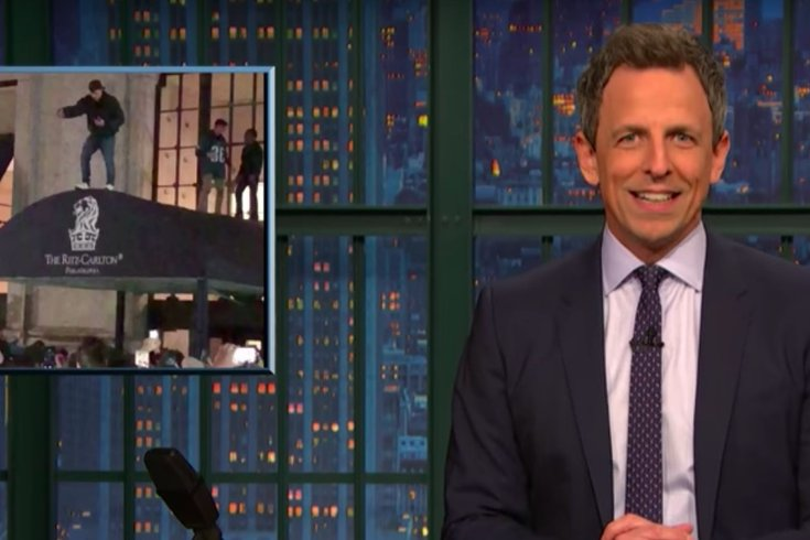 seth meyers eagles