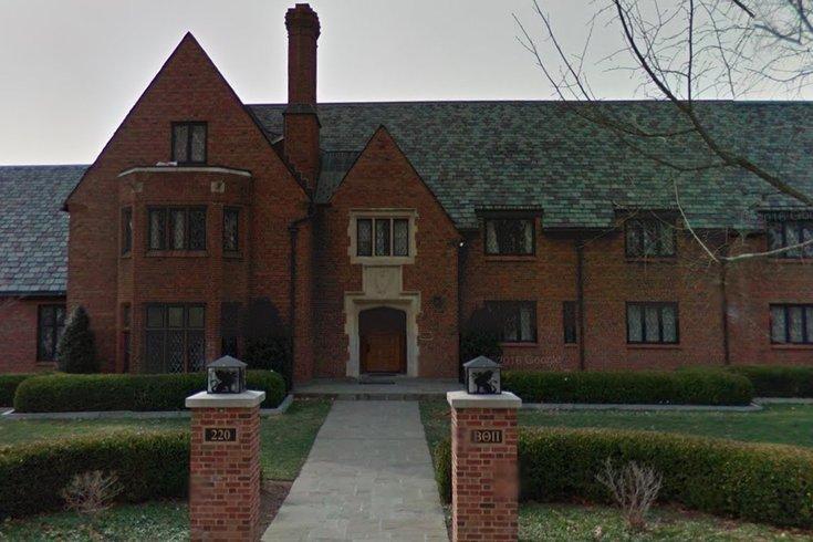 penn state frat house google maps