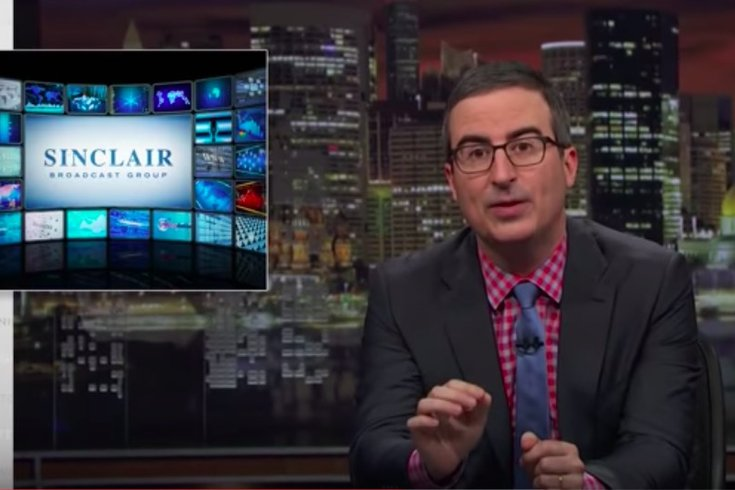 John Oliver calls Sinclair anchors 'members of a brainwashed cult'