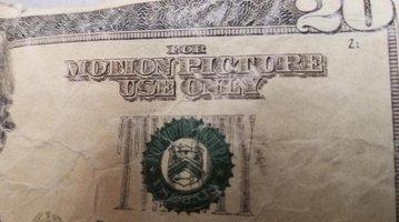 fake movie money