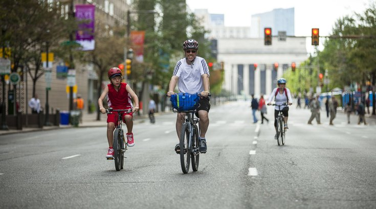 Biking in Philly