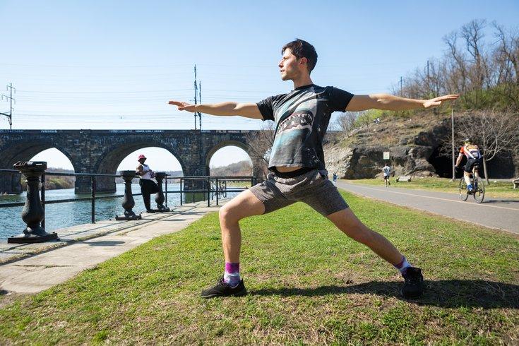 Stock_Carroll - Warrior 2 yoga pose