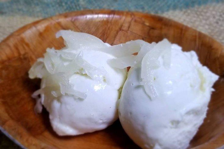 Sauerkraut ice cream