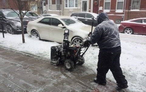Snow Plow South Philly
