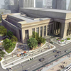 30th Street Station Plaza rendering 4