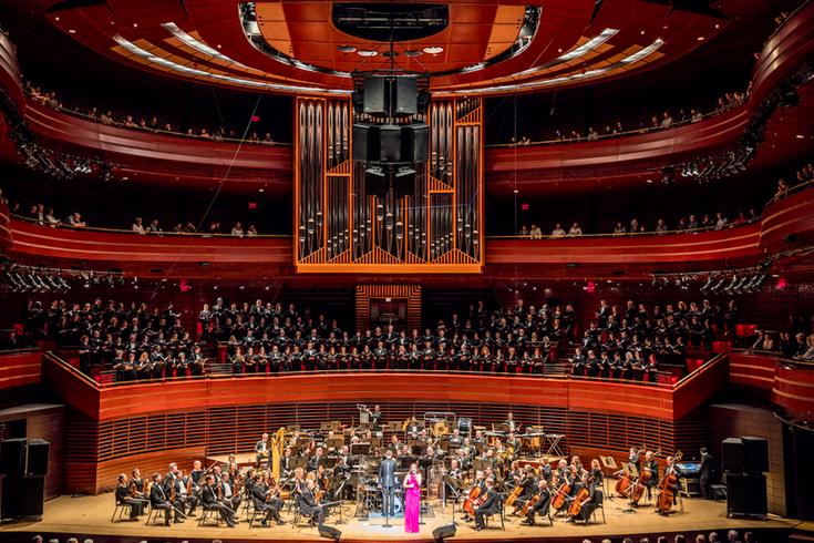 Philly POPS on stage at the Kimmel Center