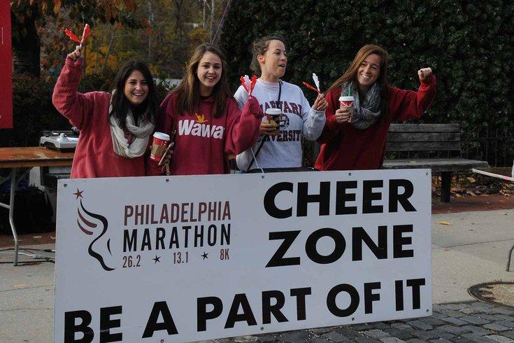 Cheer Zone for Philadelphia Marathon