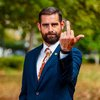 Brian Sims Middle Finger Mike Pence