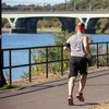 Stock_Carroll - Running on Schuylkill River Trail