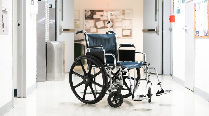 Stock_Carroll - Hospital ER Wheelchair