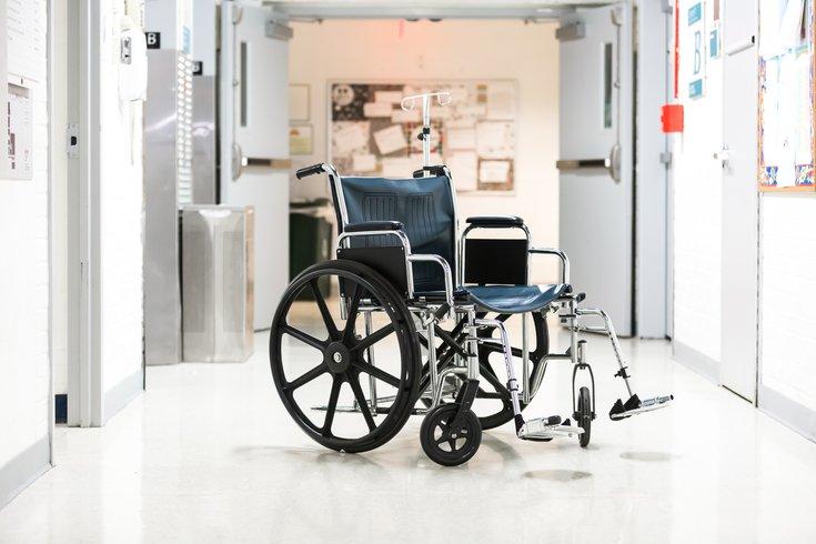 Stock_Carroll - Hospital ER Wheelchair