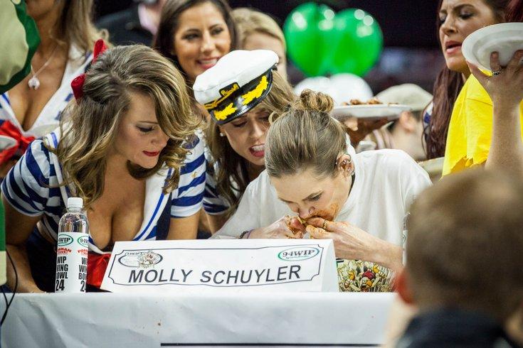 Carroll - 2016 Wingbowl Molly Schuyler