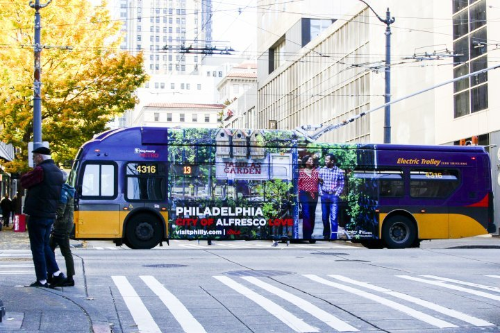 VisitPhilly Seattle Ad