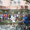 Carroll - Mazzoni Center LGBTQ rights supporters counter-protest Westboro Baptist Church