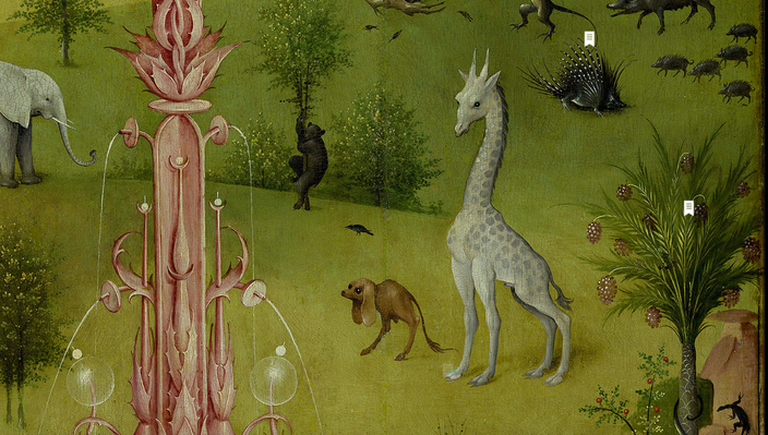A Bunch Of Animals Not Having A Good Time In Hieronymus