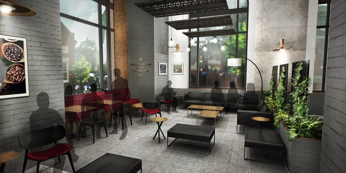 wawa 6th and Chestnut old city rendering 3