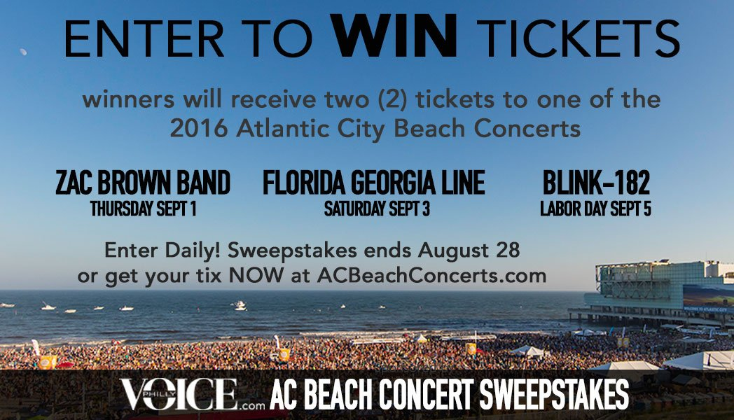PhillyVoice com AC Beach Concert Sweepstakes | PhillyVoice