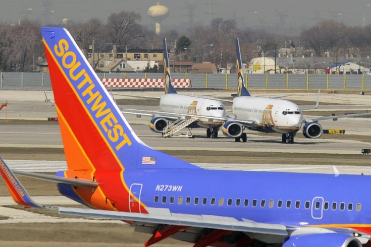 Philly Bound Southwest Plane Aborts Takeoff At Chicago S