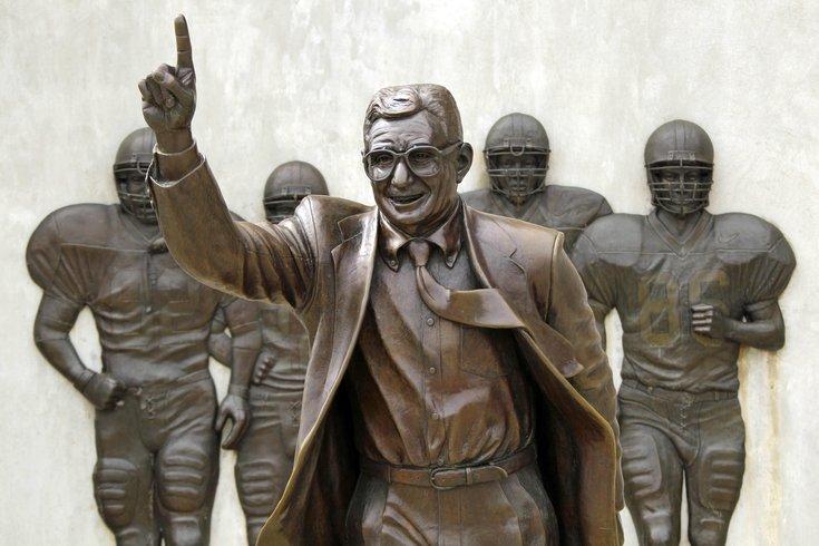 Original Joe Paterno statue
