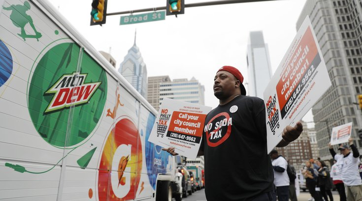 Soda Tax Protest