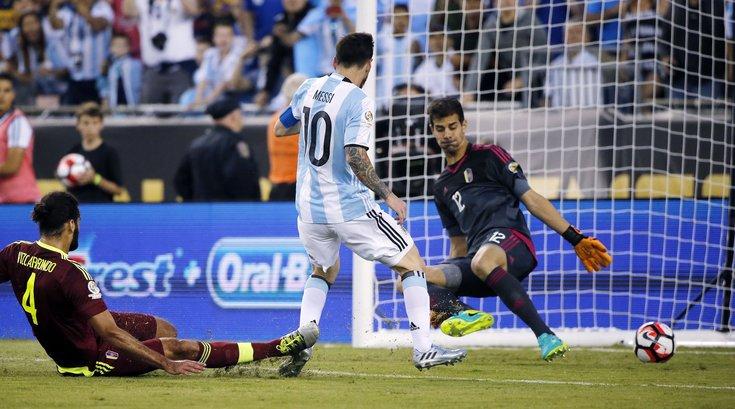 Lionel Messi at Copa America