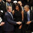 Bush Obama Dallas