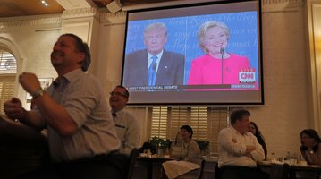 Debate Split Screen