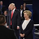 Trump Clinton Debate Two