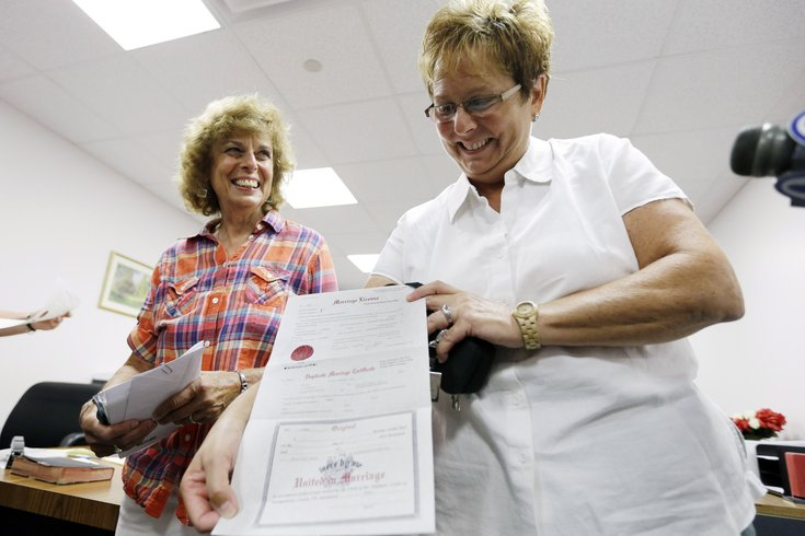 Montgomery County same-sex marriages