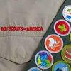 Boy Scouts uniform AP stock