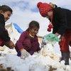 Snowmen in Iraq